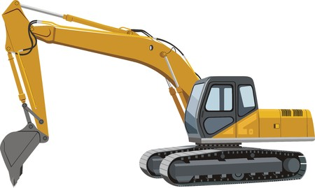excavator: Excavator Illustration