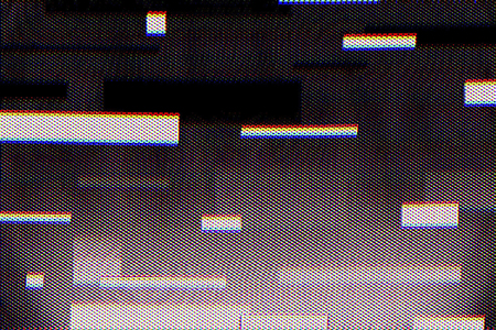 Texture with effect glitch for background. Abstract noise backdrop of video glitch error.  Banco de Imagens