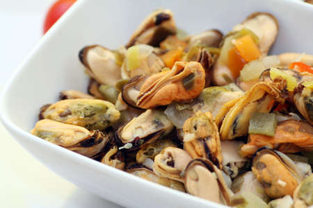 fresh mussels Stock Photo - 4733603