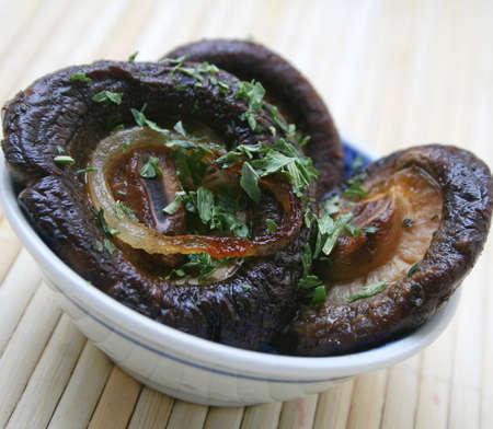 asian mushrooms photo