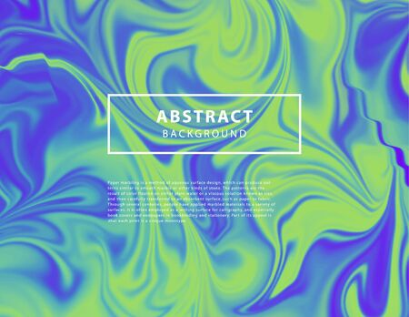 Vector abstract unicorn holographic iridescent pattern.Colorful gradient background in modern 80 - 90s neon colors. Good for wallpaper,cover, book, printing, gift card, fashion design.Dynamic shapes purple, green and blue.