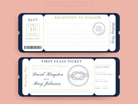 Boarding pass Anchor,Retro Sailor on the Boat Address Tags