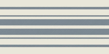Modern french Farmhouse pattern in teal blue and beige colors. Seamless vector background. Linen vintage kitchen fabric. Textile ribbon trim texture.