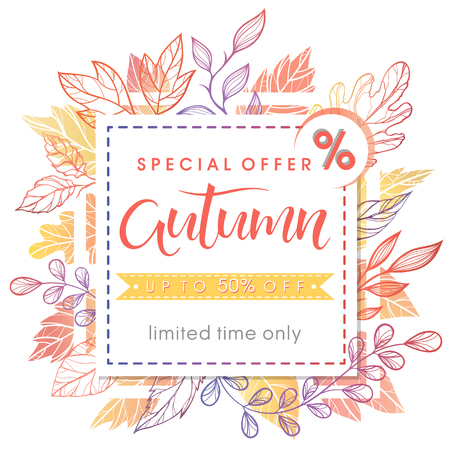 Autumn special offer banner.