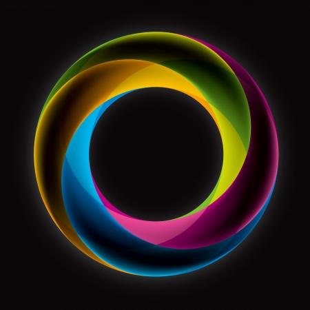 Abstact Бесконечный цикл шаблон логотипа Корпоративный значок