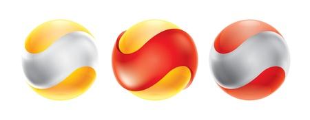 Бизнес Аннотация Bubble значок Корпоративный, медиа, технологии шаблон логотипа Иллюстрация