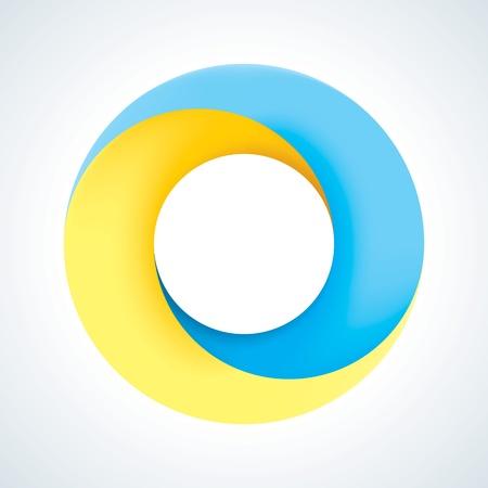 Аннотация шаблон круг логотип Корпоративный значок