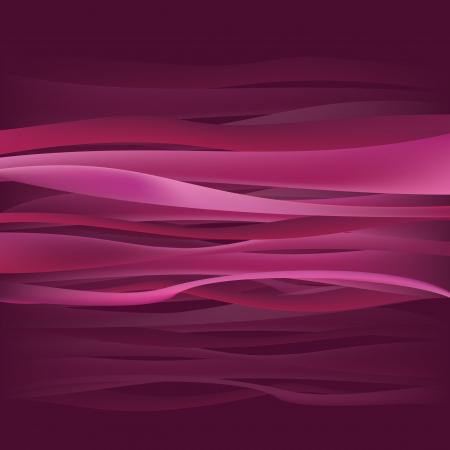 Pink Purple Waves Illustration