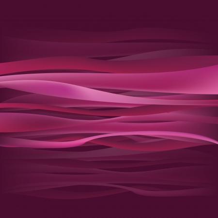 Pink Purple Waves Illustration