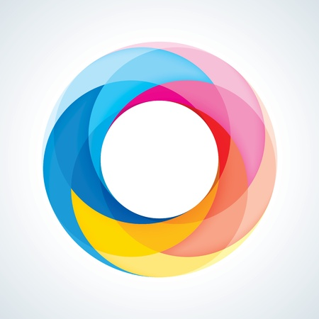 infinite loop: Abstract Infinite Loop Sign Template  Corporate Icon  5 Pieces Shape  EPS10