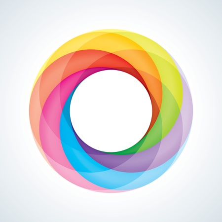 infinite loop: Abstract Infinite Loop Sign Template  Corporate Icon  6 Pieces Shape  EPS10