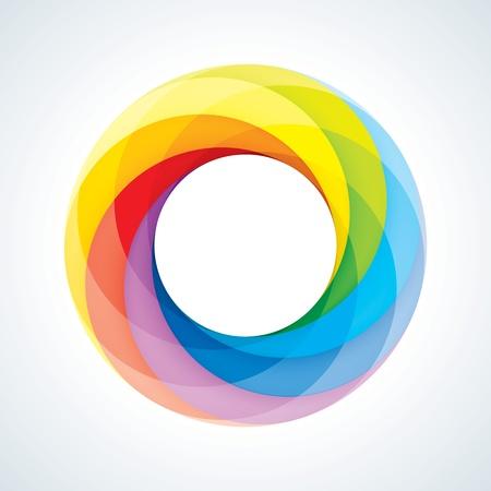 Аннотация бесконечный цикл Войти шаблона Корпоративный Иконка 7 шт Форма EPS10 Иллюстрация