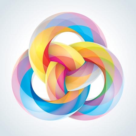 Абстрактные Infinite Loop Вход шаблона Корпоративный Иконка EPS10