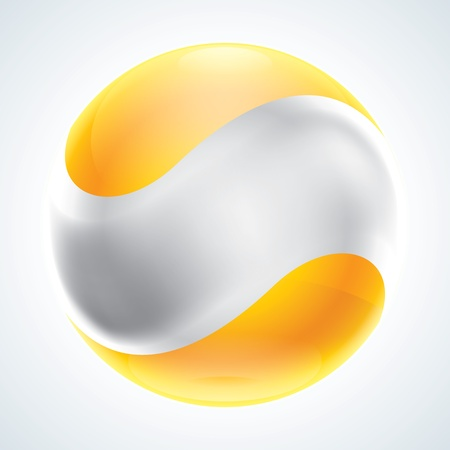 Business Abstract Bubble icon  Corporate, Media, Technology  EPS10