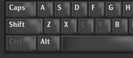 Ключи клавиатуры компьютера используется CTRL, C и V для CopyPaste Иллюстрация