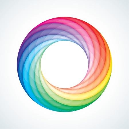 laço: Abstract loop infinito Registe Modelo. Ícone corporativo. 12 Pieces Shape. Ilustração