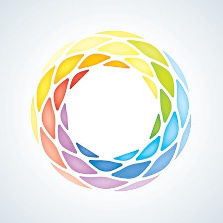 Аннотация Камень Символ Корпоративный Иконка Иллюстрация