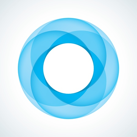 Abstract Infinite Loop Sign Template  Corporate Icon Illustration