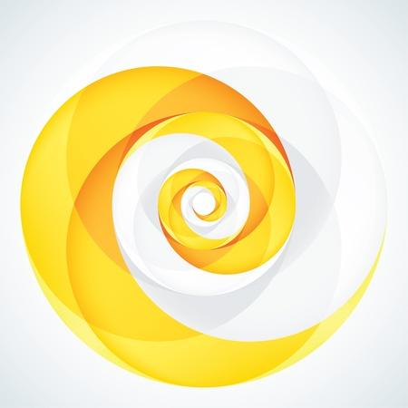infinite loop: Abstract Infinite Loop Swirl Template  2 Pieces Shape  EPS10