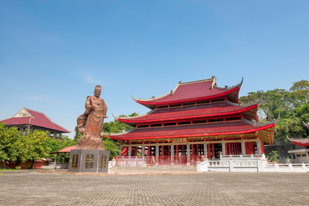 This is  Sam Poo Kong temple, also known as Gedung Batu Temple, is the oldest chineese temple in semarang, central java, Indonesia. Originally established by the Chinese Muslim explorer Zheng He (also known as Sanbao) Reklamní fotografie