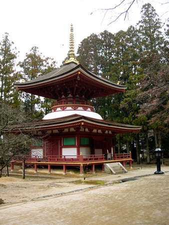 A Stupa on Mount Koya in Japan Stock Photo - 7000958