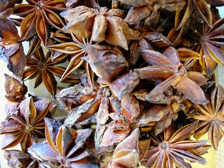 Star Anise in bulk at a spice market