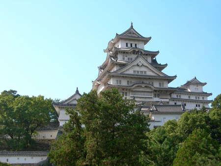 The famous Himeji Caslte near Kobe, Japan
