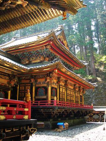 The Golden Taiyu-in Temple in Nikko, Japan