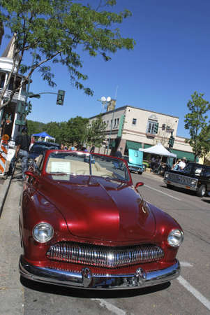 flagstaff: exhibition of old cars in Flagstaff Editorial