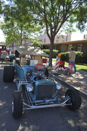 flagstaff: Exhibition of vintage cars, Flagstaff (Arizona) September 2008