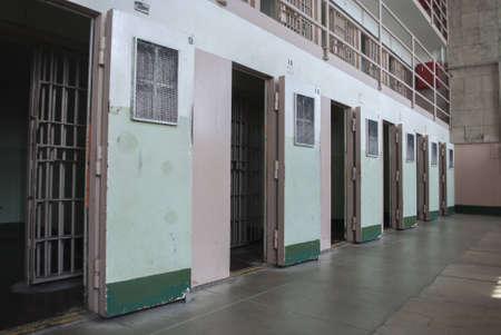 Alcatraz Prison Cell Stock Photo - 15370352