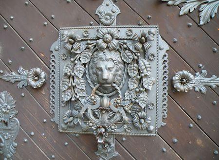 detail of a old castle door Stock Photo - 5650042