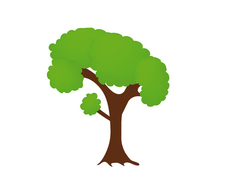 nice illustration of tree isolated on white background Stock Vector - 6142903