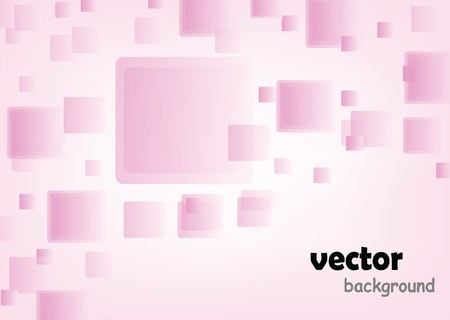 nice abstract pink cube background with sample text Stock Photo - 6976690