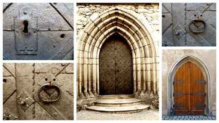 nice old architecture collage mix photo