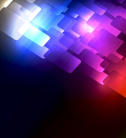 Vector colorful abstract plasma background for your design Vector