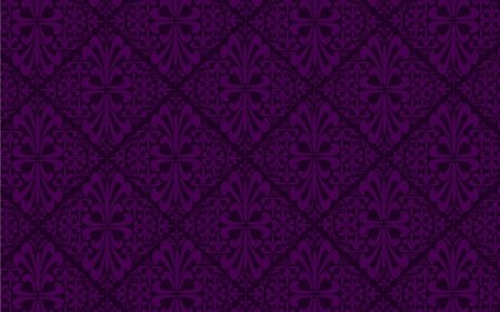 purple silk: Purple antique seamless pattern with ornaments Illustration