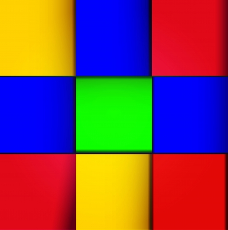 Vector cube design abstract background. Colorful cube with shine. Vector