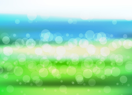 holiday background: Vector summer holiday tropical sea or ocean beach background.