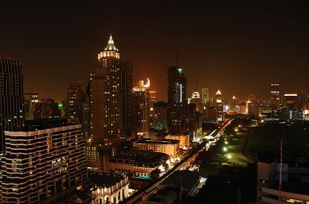 Bangkok night ,Thailand photo