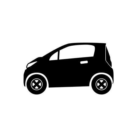 micro car icon vector
