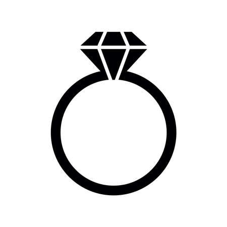 ring icon vector Illustration