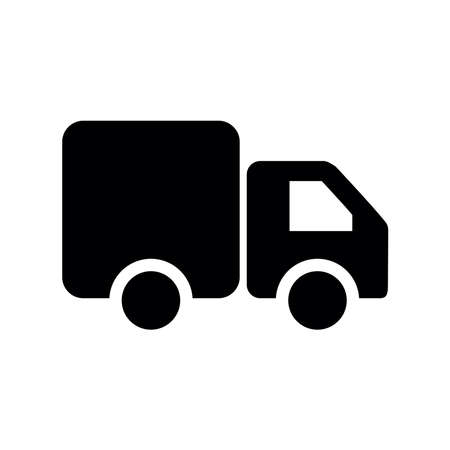 truck car logistic icon vector Illusztráció