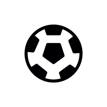 football soccer ball icon vector