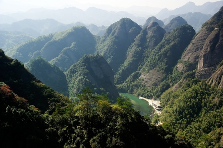 Imposing extraordinary mountains - taken in Ziyuan County, Guangxi, China