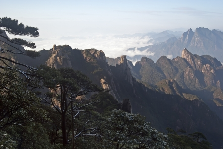 world natural heritage: The Sanqingshan landscape of the world natural heritage Taken in China, Jiangxi