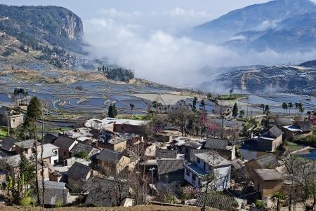 yuanyang: The China Yuanyangtitian beautiful scenery