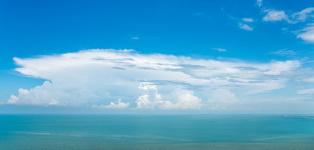 seas: blue sky and seas