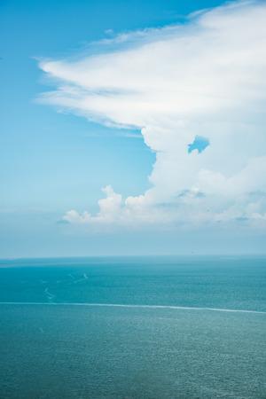 blue sky and sea scenery 免版税图像