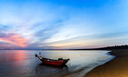 Sea background image Sunrise